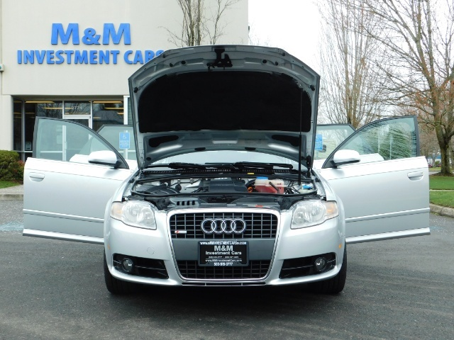 2008 Audi A4 2.0T Avant quattro / AWD / S-LINE / Sport Wagon - Photo 30 - Portland, OR 97217