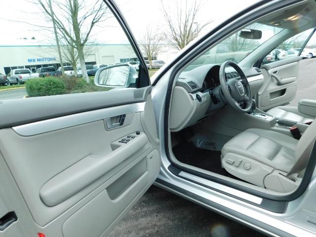 2008 Audi A4 2.0T Avant quattro / AWD / S-LINE / Sport Wagon - Photo 13 - Portland, OR 97217
