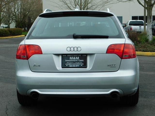 2008 Audi A4 2.0T Avant quattro / AWD / S-LINE / Sport Wagon - Photo 6 - Portland, OR 97217