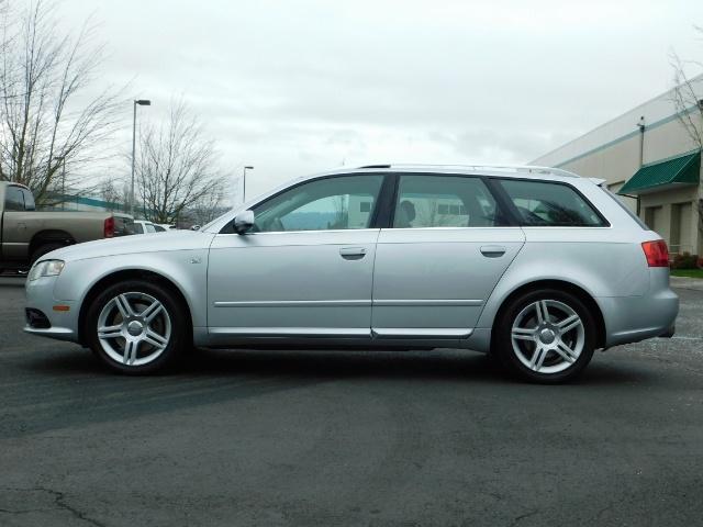 2008 Audi A4 2.0T Avant quattro / AWD / S-LINE / Sport Wagon - Photo 3 - Portland, OR 97217