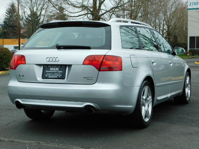 2008 Audi A4 2.0T Avant quattro / AWD / S-LINE / Sport Wagon - Photo 8 - Portland, OR 97217