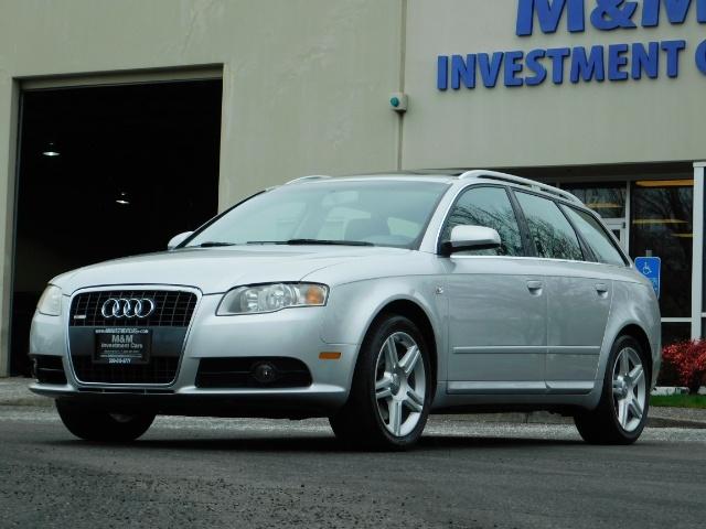 2008 Audi A4 2.0T Avant quattro / AWD / S-LINE / Sport Wagon - Photo 46 - Portland, OR 97217
