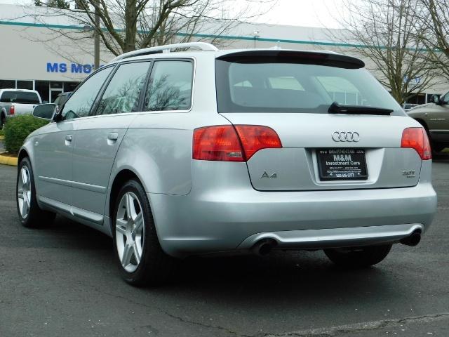 2008 Audi A4 2.0T Avant quattro / AWD / S-LINE / Sport Wagon - Photo 7 - Portland, OR 97217