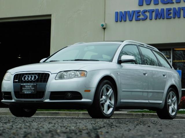 2008 Audi A4 2.0T Avant quattro / AWD / S-LINE / Sport Wagon - Photo 1 - Portland, OR 97217