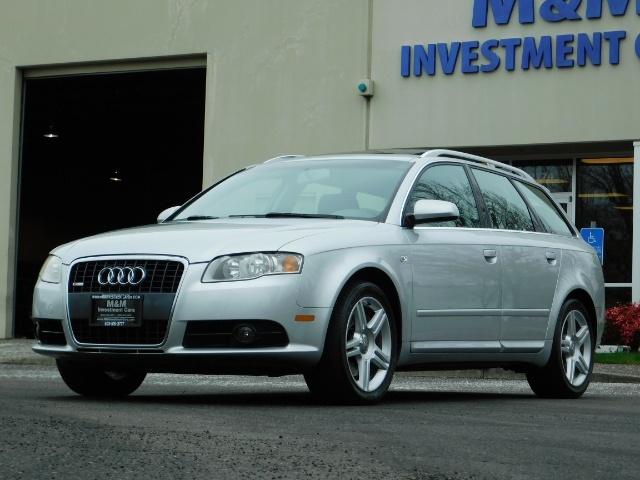 2008 Audi A4 2.0T Avant quattro / AWD / S-LINE / Sport Wagon - Photo 45 - Portland, OR 97217