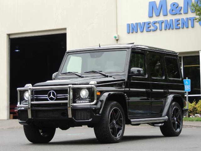 2015 Mercedes-Benz G-Class G63 AMG / AWD  / 1-OWNER / WARRANTY - Photo 1 - Portland, OR 97217