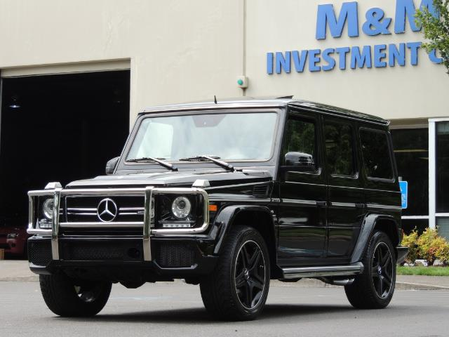 2015 Mercedes-Benz G-Class G63 AMG / AWD  / 1-OWNER / WARRANTY - Photo 25 - Portland, OR 97217