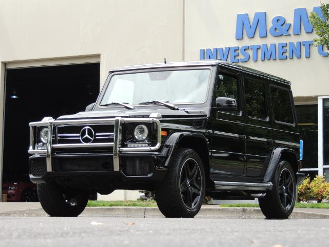2015 Mercedes-Benz G-Class G63 AMG / AWD  / 1-OWNER / WARRANTY - Photo 59 - Portland, OR 97217