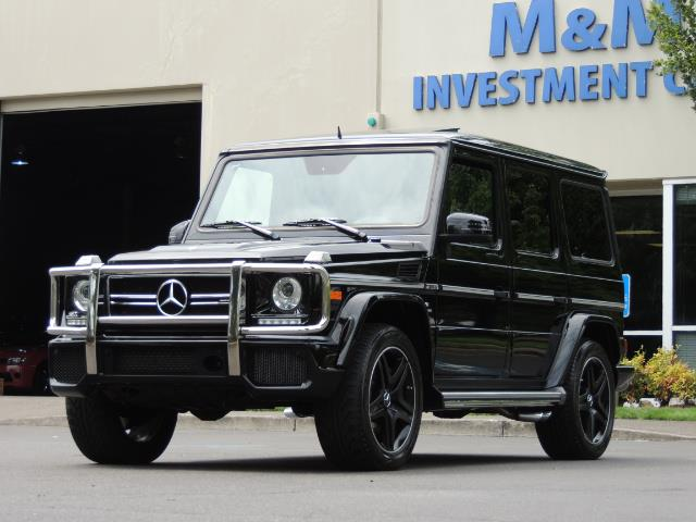 2015 Mercedes-Benz G-Class G63 AMG / AWD  / 1-OWNER / WARRANTY - Photo 58 - Portland, OR 97217