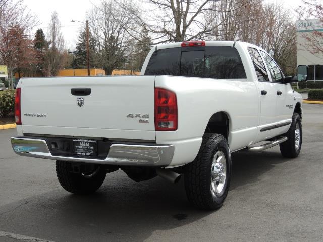 2006 Dodge Ram 2500 BIG HORN 4X4 5.9 L CUMMINS Diesel 6 SPEED 83K MLS - Photo 8 - Portland, OR 97217
