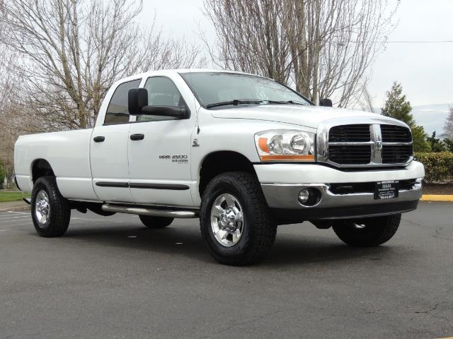 2006 Dodge Ram 2500 BIG HORN 4X4 5.9 L CUMMINS Diesel 6 SPEED 83K MLS - Photo 2 - Portland, OR 97217