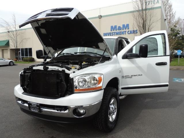 2006 Dodge Ram 2500 BIG HORN 4X4 5.9 L CUMMINS Diesel 6 SPEED 83K MLS - Photo 35 - Portland, OR 97217