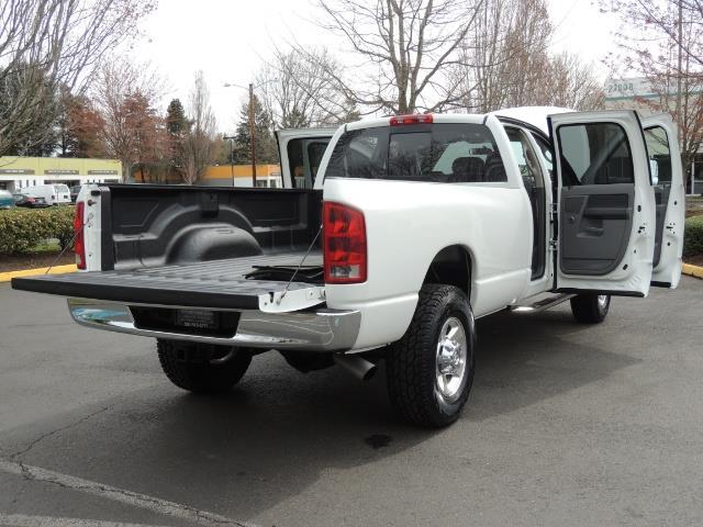 2006 Dodge Ram 2500 BIG HORN 4X4 5.9 L CUMMINS Diesel 6 SPEED 83K MLS - Photo 32 - Portland, OR 97217
