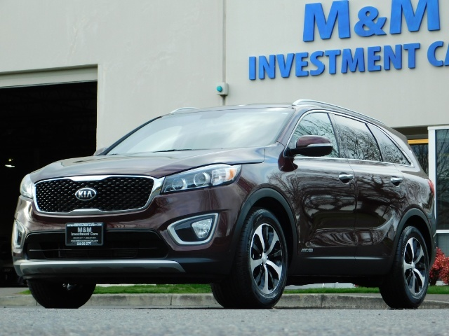 2016 Kia Sorento EX V6 / AWD / Leather/ 3RD Row Seat / 1-OWNER - Photo 45 - Portland, OR 97217