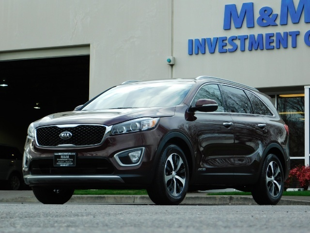 2016 Kia Sorento EX V6 / AWD / Leather/ 3RD Row Seat / 1-OWNER - Photo 1 - Portland, OR 97217