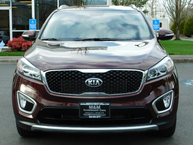 2016 Kia Sorento EX V6 / AWD / Leather/ 3RD Row Seat / 1-OWNER - Photo 5 - Portland, OR 97217