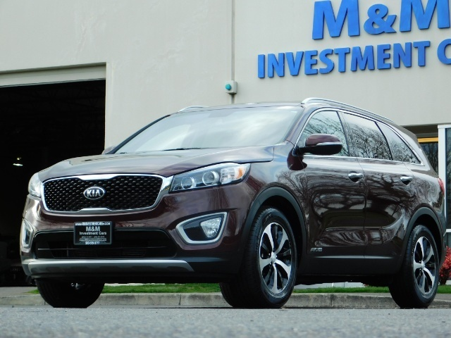 2016 Kia Sorento EX V6 / AWD / Leather/ 3RD Row Seat / 1-OWNER - Photo 48 - Portland, OR 97217