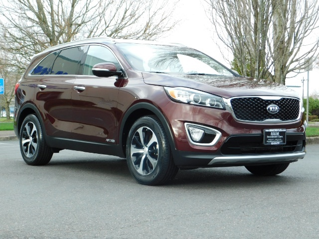 2016 Kia Sorento EX V6 / AWD / Leather/ 3RD Row Seat / 1-OWNER - Photo 2 - Portland, OR 97217