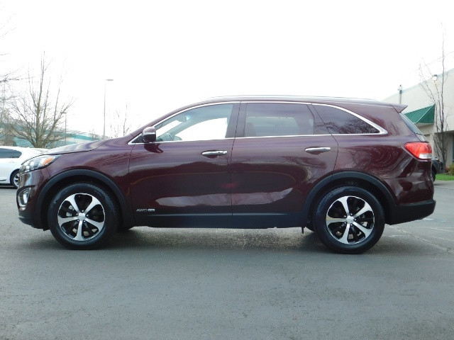 2016 Kia Sorento EX V6 / AWD / Leather/ 3RD Row Seat / 1-OWNER - Photo 3 - Portland, OR 97217