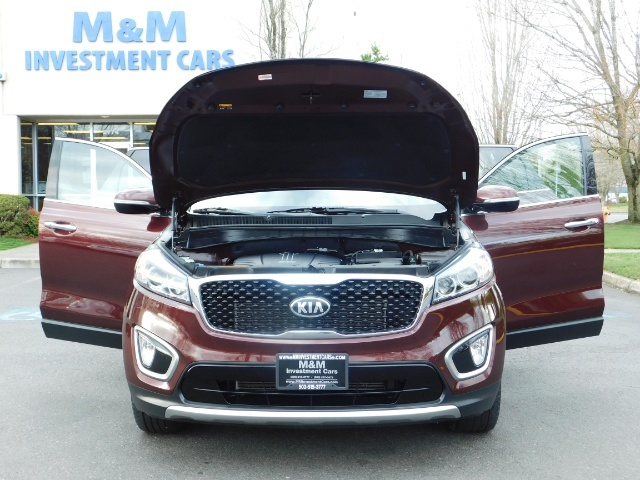 2016 Kia Sorento EX V6 / AWD / Leather/ 3RD Row Seat / 1-OWNER - Photo 32 - Portland, OR 97217