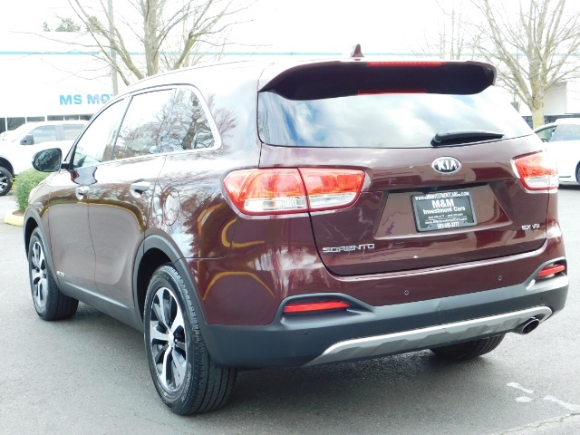 2016 Kia Sorento EX V6 / AWD / Leather/ 3RD Row Seat / 1-OWNER - Photo 7 - Portland, OR 97217