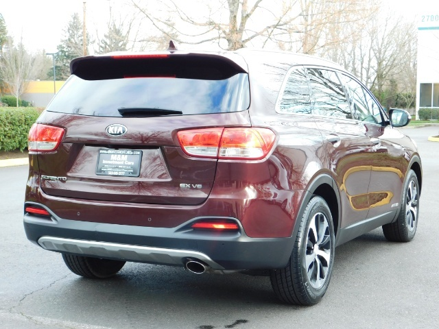 2016 Kia Sorento EX V6 / AWD / Leather/ 3RD Row Seat / 1-OWNER - Photo 8 - Portland, OR 97217