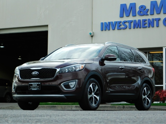 2016 Kia Sorento EX V6 / AWD / Leather/ 3RD Row Seat / 1-OWNER - Photo 46 - Portland, OR 97217