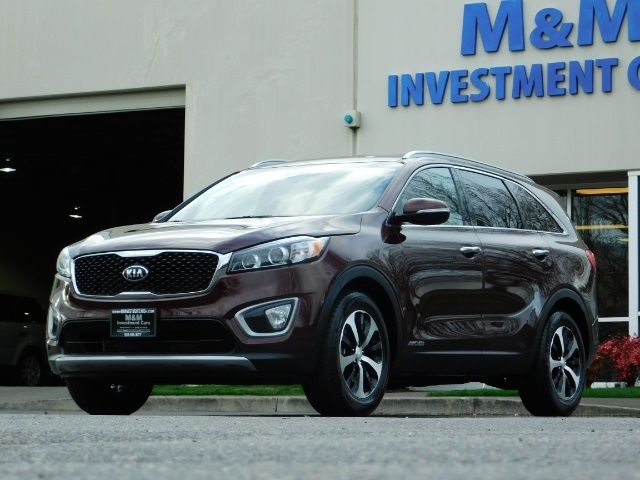 2016 Kia Sorento EX V6 / AWD / Leather/ 3RD Row Seat / 1-OWNER - Photo 44 - Portland, OR 97217