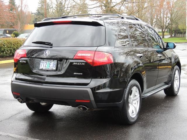 2008 Acura MDX SH-AWD / Tech Pkg / NAVIGATION / Rear View CAM - Photo 8 - Portland, OR 97217