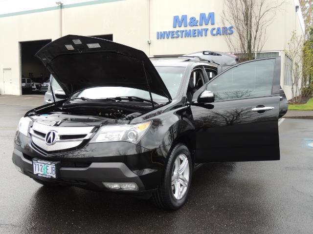 2008 Acura MDX SH-AWD / Tech Pkg / NAVIGATION / Rear View CAM - Photo 25 - Portland, OR 97217