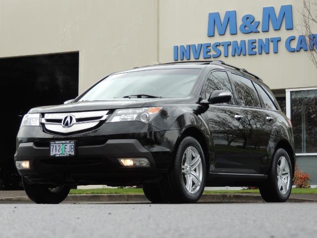 2008 Acura MDX SH-AWD / Tech Pkg / NAVIGATION / Rear View CAM - Photo 45 - Portland, OR 97217