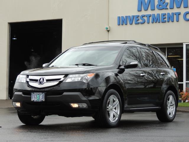 2008 Acura MDX SH-AWD / Tech Pkg / NAVIGATION / Rear View CAM - Photo 46 - Portland, OR 97217