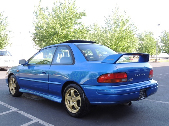 1998 subaru impreza rs coupe 2 5 rs awd rare sti wrx. Black Bedroom Furniture Sets. Home Design Ideas