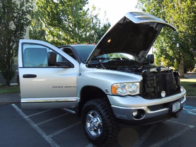 2004 Dodge Ram 3500 Laramie FLAT BED 4X4 / 5.9L Cummins DIESEL 6-SPEED - Photo 33 - Portland, OR 97217