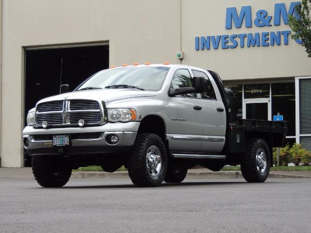 2004 Dodge Ram 3500 Laramie FLAT BED 4X4 / 5.9L Cummins DIESEL 6-SPEED - Photo 50 - Portland, OR 97217