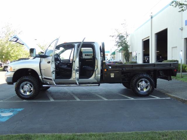 2004 Dodge Ram 3500 Laramie FLAT BED 4X4 / 5.9L Cummins DIESEL 6-SPEED - Photo 13 - Portland, OR 97217