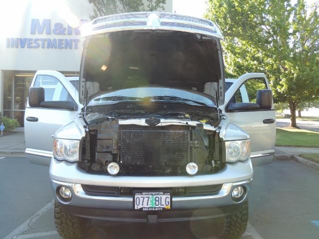 2004 Dodge Ram 3500 Laramie FLAT BED 4X4 / 5.9L Cummins DIESEL 6-SPEED - Photo 34 - Portland, OR 97217