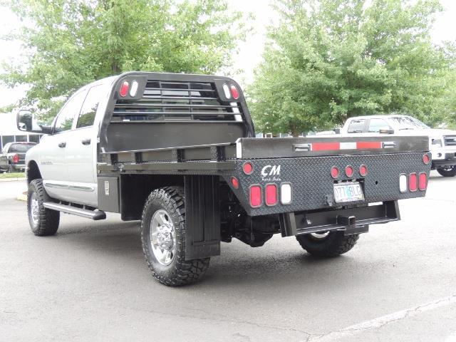 2004 Dodge Ram 3500 Laramie FLAT BED 4X4 / 5.9L Cummins DIESEL 6-SPEED - Photo 7 - Portland, OR 97217