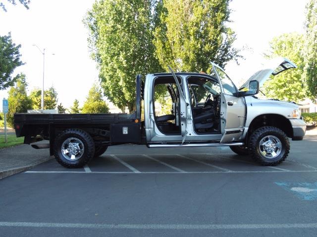 2004 Dodge Ram 3500 Laramie FLAT BED 4X4 / 5.9L Cummins DIESEL 6-SPEED - Photo 32 - Portland, OR 97217