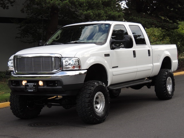 2001 ford f 250 super duty lariat 4x4 7 3l diesel lifted 84k mile. Black Bedroom Furniture Sets. Home Design Ideas