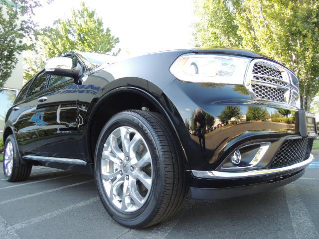 2017 Dodge Durango Citadel / AWD / Navigation / 3RD Seat / Excel Cond - Photo 10 - Portland, OR 97217