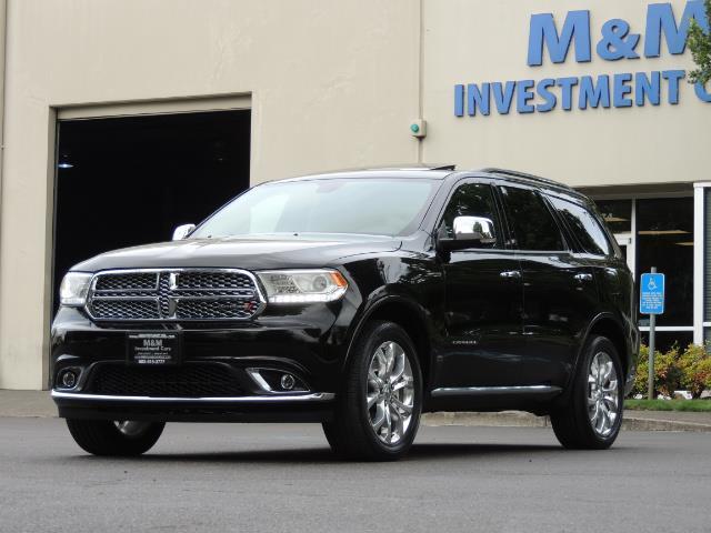 2017 Dodge Durango Citadel / AWD / Navigation / 3RD Seat / Excel Cond - Photo 1 - Portland, OR 97217