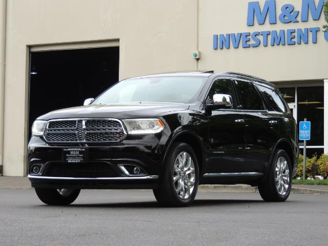 2017 Dodge Durango Citadel / AWD / Navigation / 3RD Seat / Excel Cond - Photo 53 - Portland, OR 97217
