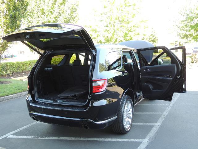 2017 Dodge Durango Citadel / AWD / Navigation / 3RD Seat / Excel Cond - Photo 28 - Portland, OR 97217