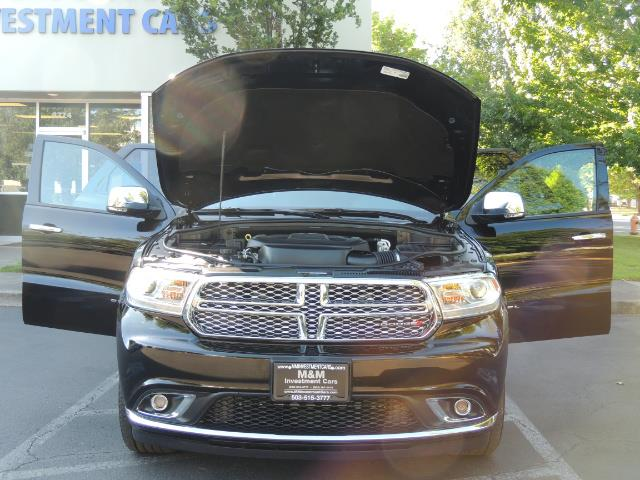 2017 Dodge Durango Citadel / AWD / Navigation / 3RD Seat / Excel Cond - Photo 31 - Portland, OR 97217
