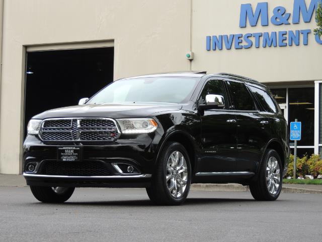 2017 Dodge Durango Citadel / AWD / Navigation / 3RD Seat / Excel Cond - Photo 54 - Portland, OR 97217