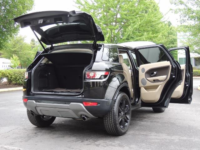 2013 Land Rover Evoque Pure / AWD / Navigation / backup camera / 1-Owner - Photo 29 - Portland, OR 97217