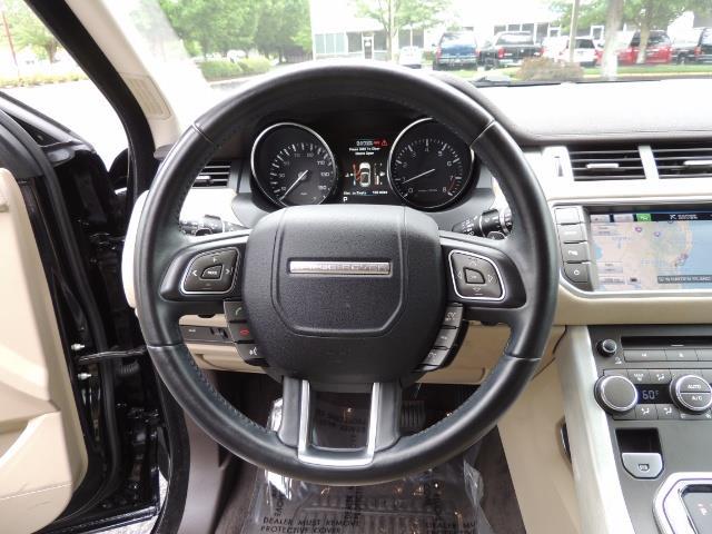 2013 Land Rover Evoque Pure / AWD / Navigation / backup camera / 1-Owner - Photo 42 - Portland, OR 97217