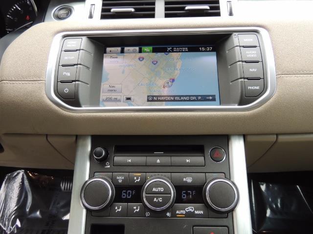 2013 Land Rover Evoque Pure / AWD / Navigation / backup camera / 1-Owner - Photo 20 - Portland, OR 97217
