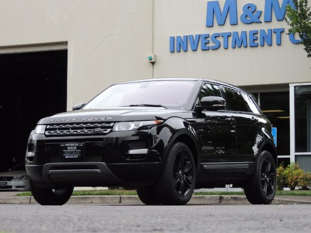 2013 Land Rover Evoque Pure / AWD / Navigation / backup camera / 1-Owner - Photo 48 - Portland, OR 97217